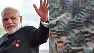 'Looks Splendid on a Rainy Day': PM Modi Tweets Video of Iconic Sun Temple in Gujarat's Modhera | Watch