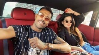 Hardik Pandya Shares Throwback Picture With Partner Natasa Stankovic