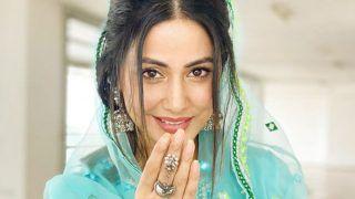 हिना खान ने ऐसे सज-धज कर कहा- ईद मुबारक, दबी जबान में चांद भी बोला.... नहीं देखा अभी तक ऐसा हसीं