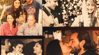 Kareena Kapoor Khan Gives a Glimpse of Saif Ali Khan's Childhood Pics, Their Wedding Pic And More in This Heartwarming Video