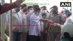 सीएम केजरीवाल ने 200 बेड वाले हॉस्पिटल का किया उद्घाटन, बोले- दिल्ली में कोविड-19 स्थिति नियंत्रण में है