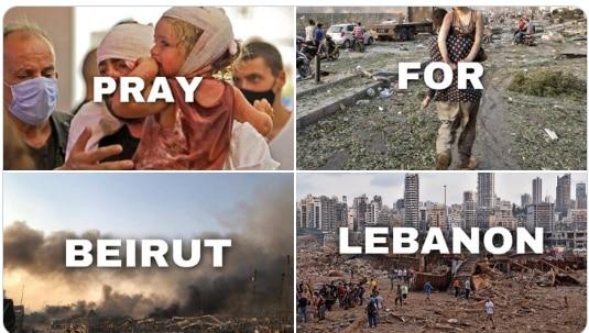 Pray For Lebanon: Devastating Photos of Terror & Destruction ...