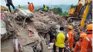 महाराष्ट्र में इमारत ढहने की घटना में दो की मौत, अब भी 18 लोगों के दबे होने की आशंका