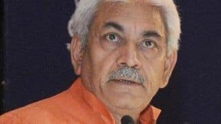 Manoj Sinha to be New Lieutenant Governor of Jammu and Kashmir, President Accepts Murmu's Resignation