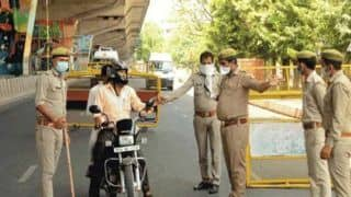 Noida Police Gets Strict After Night Curfew Imposed Amid Sharpest Single Day COVID-19 Case Spike