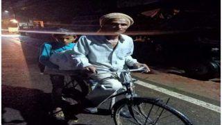 पिता अपने बच्चों के लिए हर बाधा को कर जाता है पार, बेटे को परीक्षा दिलाने साइकिल से नाप दी 105 किमी की दूरी
