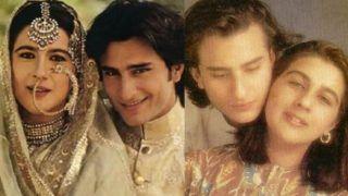 Saif Ali Khan Birthday: 'छोटे नवाब' की पहली मोहब्बत की दास्तां, सैफ-अमृता की प्रेम कहानी का यूं हुआ था अंत
