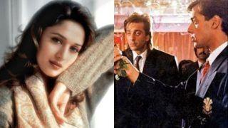 स्क्रिप्ट पढ़ते ही माधुरी दीक्षित ने इस फिल्म के लिए भर दी थी हामी, सलमान-संजय दत्त की जोड़ी का कमाल
