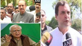 CWC Meet: दो फाड़ हुई कांग्रेस, राहुल गांधी के बयान पर भड़के सिब्बल, आजाद बोले - अगर आरोप साबित हुआ तो...