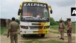 उत्तर प्रदेश में किडनैप कर ली गई यात्रियों से भरी बस, 12 घंटे बाद मिली