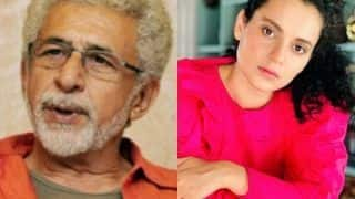 Naseeruddin Shah Takes Dig at Kangana Ranaut Over Nepotism Debate, Says 'Not Interested in Opinion of Half-Educated Starlet'