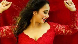 भोजपुरी एक्ट्रेस रानी चटर्जी ने लाल रंग की ड्रेस में गिराई बिजलियां,  लोगों के दिलों पर दिल की छुरियां