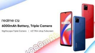 Realme C12 Sale Today in India at 12 pm: Check Price, Specifications, Camera