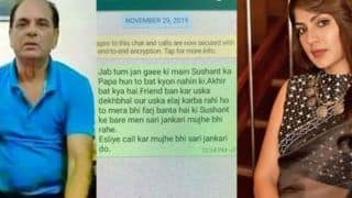Sushant Singh Rajput's Father KK Singh's WhatsApp Chats With Rhea Chakraborty, Shruti Modi Go Viral