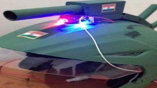 दुश्मनों की अब खैर नहीं, वाराणसी की एक स्टूडेंट ने बनाया 'रोबो हेलमेट' खूबियां जान हैरान रह जाएंगे