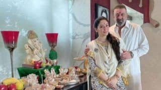 Ganesh Chaturthi 2020: Sanjay Dutt Shares Pic With Maanayata, Wishes This Auspicious Festival Removes All The Obstacles