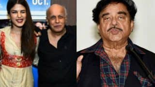 Shatrughan Sinha Speaks About Rhea Chakraborty's Relationship With Mahesh Bhatt in Sushant Singh Rajput Death Case