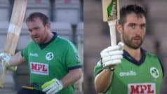 Stirling, Balbirnie Slam Centuries as Ireland Hunt Down 329