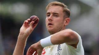 ENG vs PAK: Stuart Broad Fined by Father For Yasir Shah Send-Off in Manchester