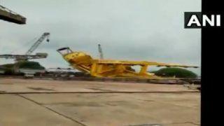 10 Dead, Several Injured in Crane Collapse at Visakhapatnam Shipyard
