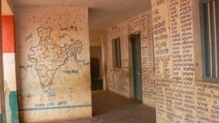 Alternative to Online Classes! This Maharashtra School is Painting Lessons on Walls to Impart Education to Poor Students