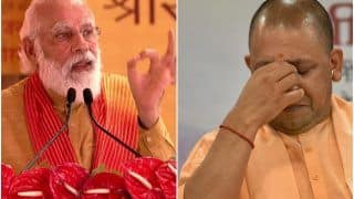 PM Modi Mistakenly Calls UP CM as 'Aditya Yoginath' Instead of Yogi Adityanath, Triggers Meme Fest on Twitter | Watch