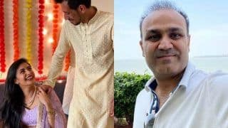 Virender sehwag sachin tendulkar congratulate yuzvendra chahal for engagement 4106502