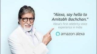 'Alexa, Say Hello to Amitabh Bachchan': Big B Becomes First Indian Celebrity to Lend Voice to Alexa