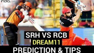 Dream11 IPL 2020 Prediction, SRH vs RCB: 'किंग' कोहली के सामने आज होंगे डेविड वॉर्नर, जानें किसका पलड़ा है भारी