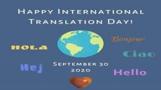 International Translation Day 2020: History, Significance, Theme of The Day
