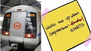 'Wake Me Up When September Starts': Delhi Metro Celebrates Resumption of Services With a 'Green Day' Song