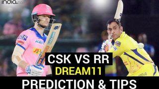 RR vs CSK Dream11 Team Hints And Predictions, Captain And Vice-Captain, Fantasy Cricket IPL 2020: Rajasthan Royals vs Chennai Super Kings, Match 4 Sharjah Cricket Stadium at 7:30 PM IST Tuesday September 22