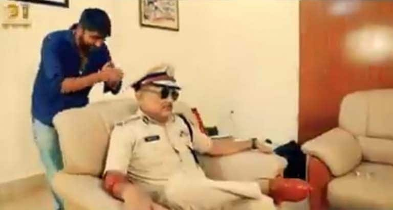 Ex DGP Gupteshwar Pandey is    Robinhood of Bihar    in Music Video by Former Bigg Boss Contestant