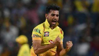 IPL 2020: लगातार दूसरा कोविड टेस्ट निगेटिव आने पर CSK टीम के होटल में लौटे दीपक चाहर