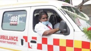 Tamil Nadu's M Veeralakshmi Shatters The Glass Ceiling, Becomes India's First Woman Ambulance Driver