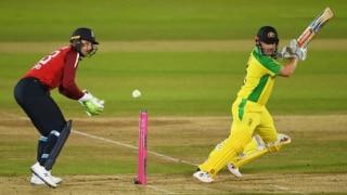 Eng vs Aus: पहले टी20 में हार के बाद बोले कप्तान फिंच- इंग्लैंड ने शानदार वापसी की