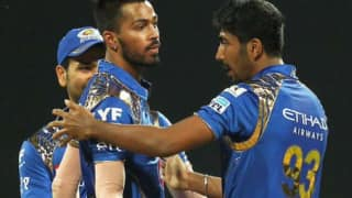 Ipl 2020 hardik pandya losses cool at jasprit bumrah after poor fielding show 4151324