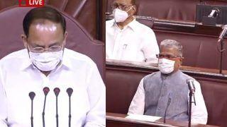 दूसरी बार राज्यसभा के उपसभापति पद के लिए निर्वाचित हुए NDA उम्मीदवार हरिवंश, पीएम मोदी ने की तारीफ
