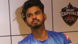 Delhi capitals captain shreyas iyer has been fined after his team maintained a slow over rate 4157179