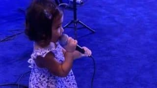 IPL 2020: Rohit Sharma's Daughter Samaira Sings Special Song For Mumbai Indians Ahead of Opener With Chennai Super Kings | WATCH