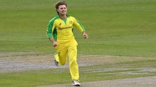 England vs Australia 1st ODI Highlights: Adam Zampa's Four-For Overshadows Sam Billings Maiden Century as AUS Beat ENG by 19 Runs