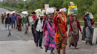 Over 1 Crore Migrant Workers Walked Back to Their Home States During March-June: Govt Tells Parliament