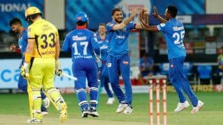 CSK vs DC IPL 2020 Match Report: Prithvi Shaw, Kagiso Rabada Shine as Delhi Capitals Inflict 44-run Defeat on Chennai Super Kings