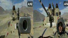 India China Stand-off: चीन की हर चाल होगी नाकाम, भारत ने लद्दाख में तैनात किए T-90 और T-72 विध्वंसक टैंक, देखें Video