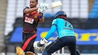 CPL 2020 Final: Kieron Pollard, Lendl Simmons Star as Trinbago Knight Riders Beat St Lucia Zouks by 8 Wickets to Win Record Fourth Title