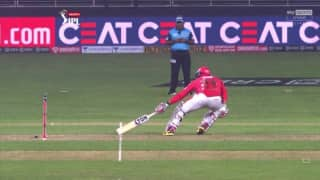 Watch umpires decision became the reason for punjabs defeat against delhi fans preity zinta virender sehwag show outrage on twitter 4147598