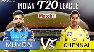 LIVE Mumbai Indians vs Chennai Super Kings Match 1 Live Cricket Score And Updates: Defending Champs MI to Take on Dhoni-Led CSK in IPL's EL Clasico