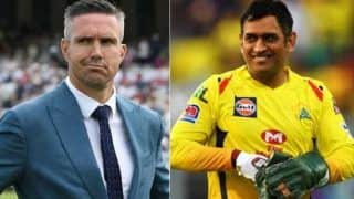 Rr vs csk i am not buying this nonsense says kevin pietersen on ms dhonis slow inning 4150368