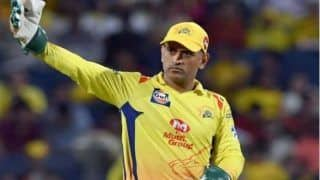 WATCH | Dhoni Takes a STUNNER to Dismiss Iyer
