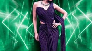 Malaika Arora Sparkles in a Purple Saree-Gown by Gaurav Gupta For India's Best Dancer - Yay or Nay?